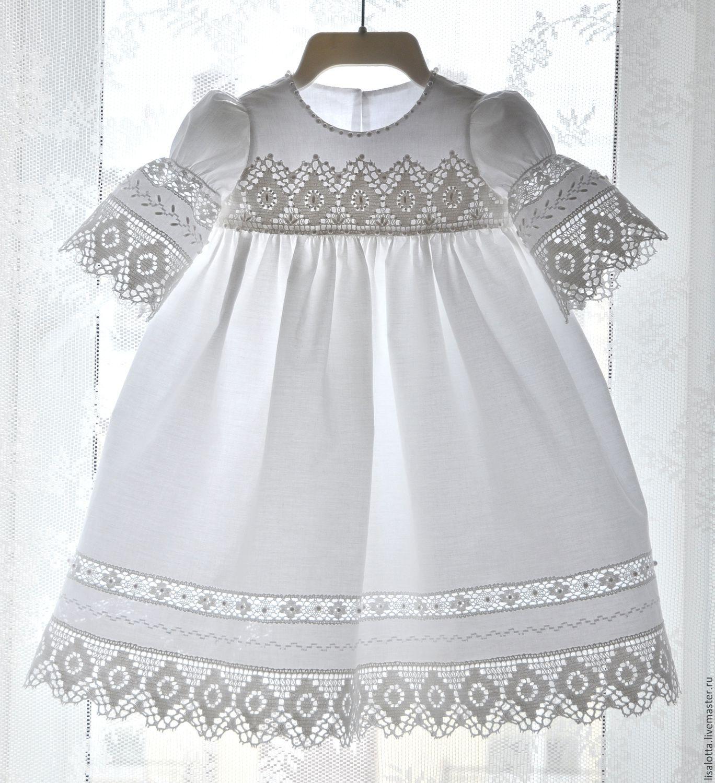 Платья для крещения для новорожденных девочек своими руками фото 543