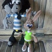 Куклы и игрушки handmade. Livemaster - original item Wolf and Hare from