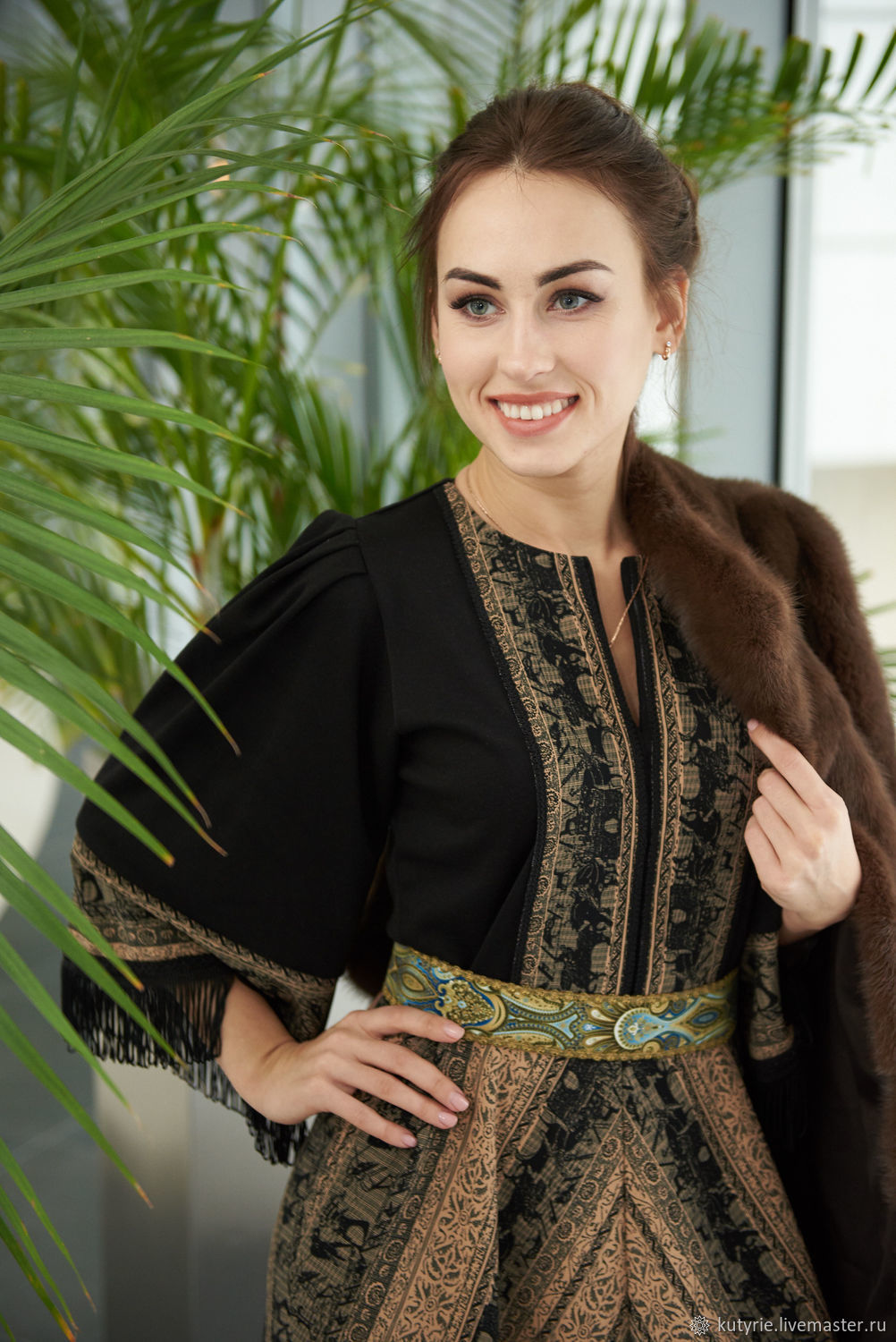 Author's dress 'daughter of the Leader' -2, Dresses, Moscow,  Фото №1