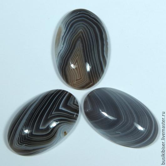 Для украшений ручной работы. Ярмарка Мастеров - ручная работа. Купить Кабошон из агата бразильского, 22х37х8мм +-2мм. Handmade.