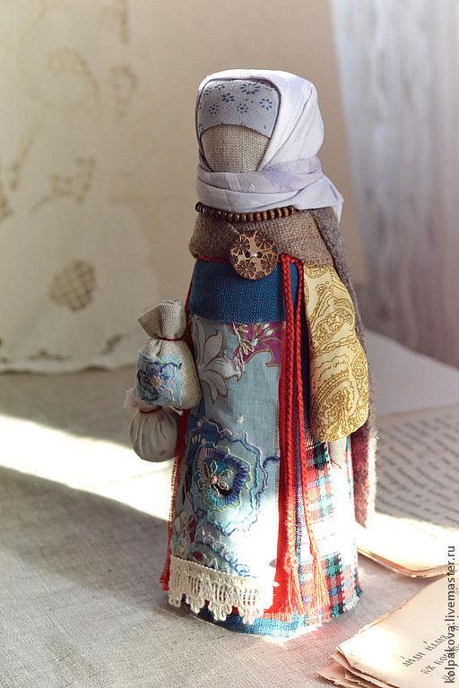 """Народные куклы ручной работы. Ярмарка Мастеров - ручная работа. Купить куколка Берегиня """"Зорюшка"""".. Handmade. Красный цвет"""