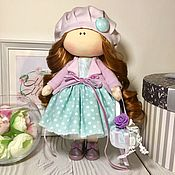 Игрушки ручной работы. Ярмарка Мастеров - ручная работа Текстильная интерьерная кукла  ручной работы. Handmade.
