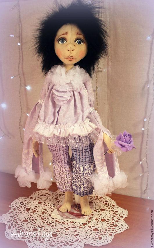 Коллекционные куклы ручной работы. Ярмарка Мастеров - ручная работа. Купить Пьеро. Handmade. Кукла ручной работы, пьеро, кружево