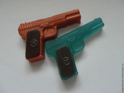 """Мыло ручной работы. Ярмарка Мастеров - ручная работа. Купить Мыло """"Пистолет"""" мужчинам. Handmade. Подарок мужчине"""