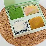 Косметика ручной работы handmade. Livemaster - original item Gift set of natural handmade soap Native expanses. Handmade.