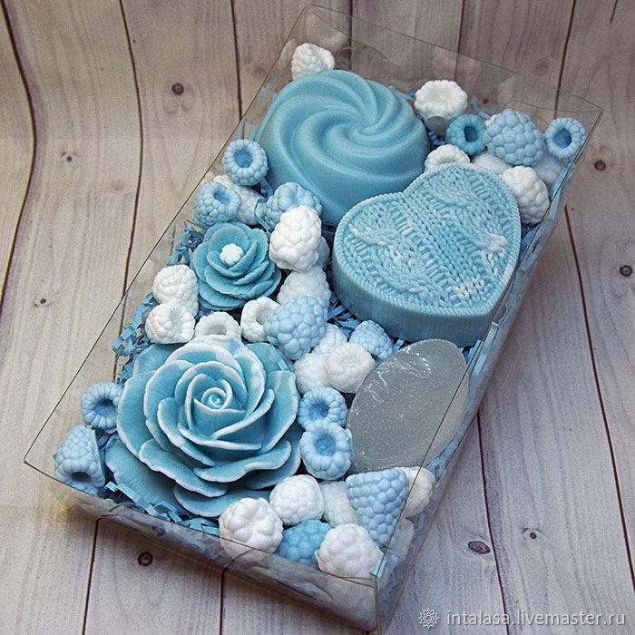 Подарочный набор из мыла и дезодоранта ручной работы, Мыло, Москва,  Фото №1