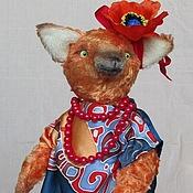 Куклы и игрушки ручной работы. Ярмарка Мастеров - ручная работа Лиса Анфиса. Handmade.