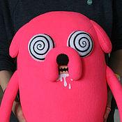 Куклы и игрушки ручной работы. Ярмарка Мастеров - ручная работа Мягкая игрушка Гипно Джейк (Jake) Время приключений (Adventure Time). Handmade.