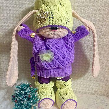 Куклы и игрушки ручной работы. Ярмарка Мастеров - ручная работа Заюшка Шанталь. Handmade.