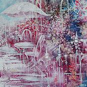 Картины и панно ручной работы. Ярмарка Мастеров - ручная работа Прогулка для двоих. Handmade.