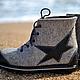 """Обувь ручной работы. Ярмарка Мастеров - ручная работа. Купить Ботинки валяные женские """"Big Trip"""". Handmade. Ботинки валяные"""