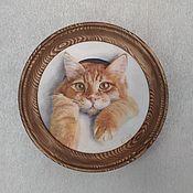 Картины ручной работы. Ярмарка Мастеров - ручная работа Рыжик(без рамы). Handmade.