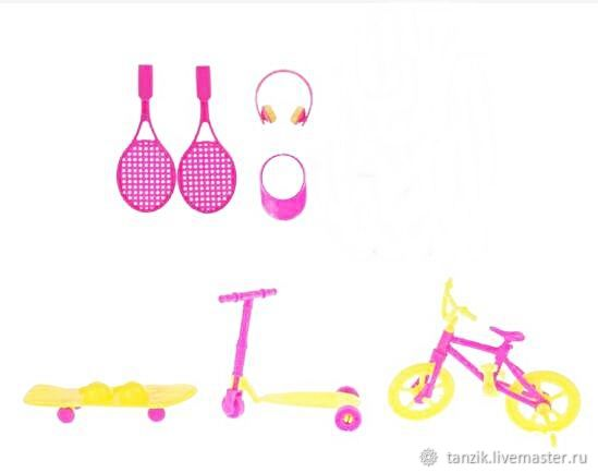 Набор аксессуаров для куклы, Аксессуары для кукол и игрушек, Краснодар,  Фото №1