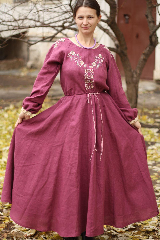 Платье с вышивкой с доставкой