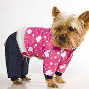 Для домашних животных, ручной работы. Ярмарка Мастеров - ручная работа Одежда для собак,комбинезон Мишки-Малышки. Handmade.