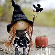 Куклы и игрушки handmade. Livemaster - original item textile doll WITCH. Handmade.