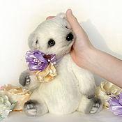 Куклы и игрушки ручной работы. Ярмарка Мастеров - ручная работа Анук. Полярная медведица. Тедди. Handmade.
