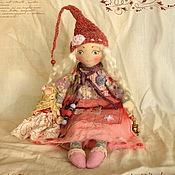 Куклы и игрушки ручной работы. Ярмарка Мастеров - ручная работа Калина. Авторская текстильная кукла. Handmade.