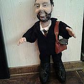 Куклы и игрушки ручной работы. Ярмарка Мастеров - ручная работа Портретная кукла на заказ по фото - Газпром:-)). Handmade.