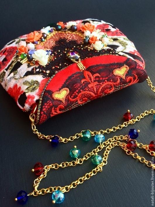 """Женские сумки ручной работы. Ярмарка Мастеров - ручная работа. Купить Вечерняя сумочка  """"Dolce Gabbana"""". Handmade. дольче габбана"""