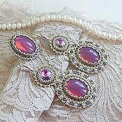"""Украшения ручной работы. Ярмарка Мастеров - ручная работа Серьги """"Lilac dreams..."""". Handmade."""
