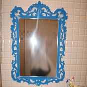"""Для дома и интерьера ручной работы. Ярмарка Мастеров - ручная работа Дизайнерское зеркало """"Диза"""". Handmade."""