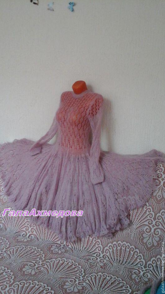 мохеровое платье,платье ручной работы, нарядное платье, красивое платье, свадебное платье, пышное платье, платье из мохера,ажурное платье,платье спицами,купить, платье ажурное,ручной работы,вечернее