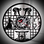 Для дома и интерьера handmade. Livemaster - original item Watch from vinyl records: Japan. original gift.. Handmade.