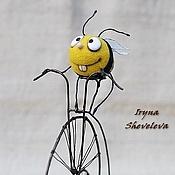 Куклы и игрушки ручной работы. Ярмарка Мастеров - ручная работа Пчёл и лисапед.. Handmade.