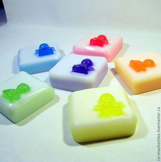 """Мыло ручной работы. Ярмарка Мастеров - ручная работа. Купить Мыло """"Цвета радуги"""". Handmade. Желтый, фиолетовый, купить сувенир"""