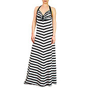 Одежда handmade. Livemaster - original item Striped dress, evening dress, summer dress, dresses 2017. Handmade.