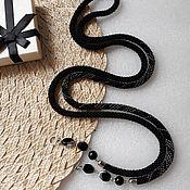 Украшения handmade. Livemaster - original item Lariat harness made of beads