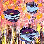 Картины и панно ручной работы. Ярмарка Мастеров - ручная работа Сказочные миры Люиса Кэролла. Handmade.