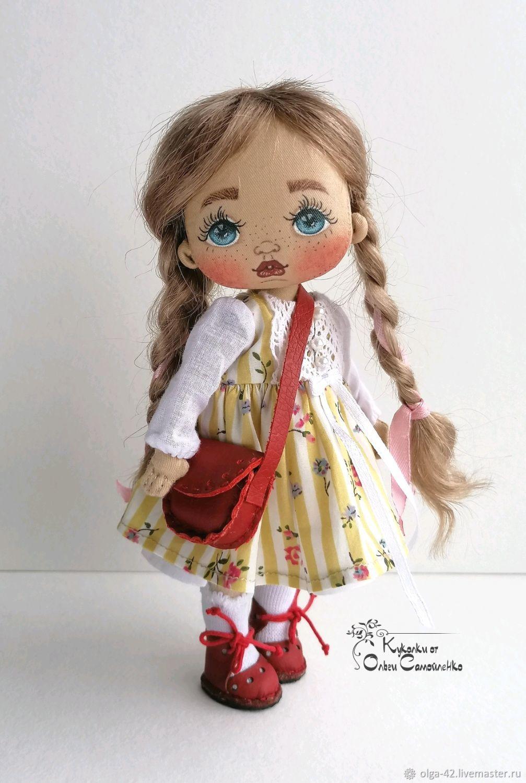 Интерьерная текстильная кукла, Куклы и пупсы, Омск,  Фото №1