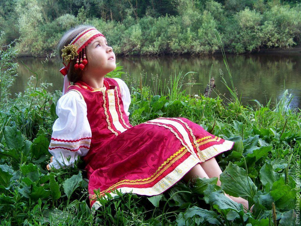 Maiden ribbon 'Cherry', Costumes3, Bryansk,  Фото №1