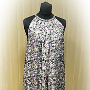 Одежда handmade. Livemaster - original item Silk dress