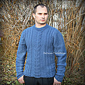 Одежда handmade. Livemaster - original item Men`s sweater