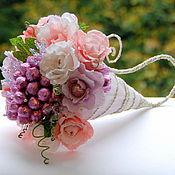 Цветы и флористика ручной работы. Ярмарка Мастеров - ручная работа Букет из конфет Рог изобилия. Handmade.