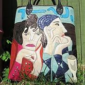 """Сумки и аксессуары ручной работы. Ярмарка Мастеров - ручная работа сумка """"И снова Пикассо"""". Handmade."""