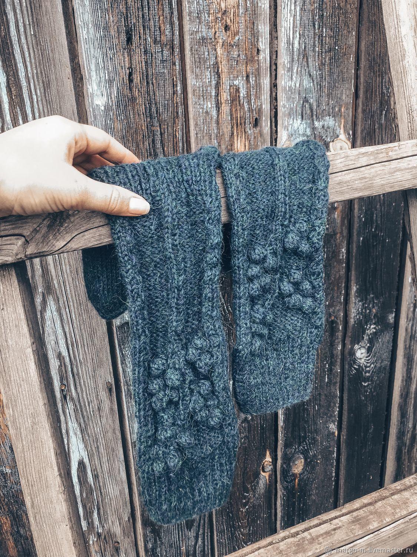 Описание вязания носков с узором шишечки, Схемы вязания, Новосибирск,  Фото №1
