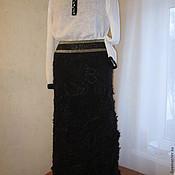 Одежда ручной работы. Ярмарка Мастеров - ручная работа Юбка crazy wool. Handmade.