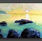 """Картины и панно ручной работы. Ярмарка Мастеров - ручная работа Картина """"Полёт"""". Handmade."""