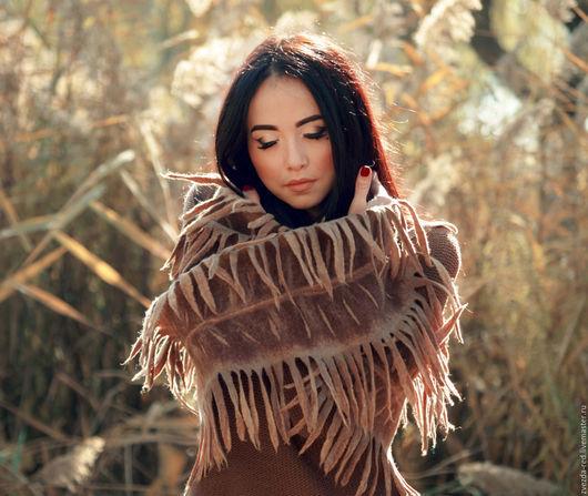 """Шарфы и шарфики ручной работы. Ярмарка Мастеров - ручная работа. Купить шарф """"Сны индейской женщины"""". Handmade. Индейские мотивы"""