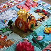 """Куклы и игрушки ручной работы. Ярмарка Мастеров - ручная работа Развивающий коврик """"Сказка-2"""". Handmade."""