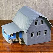 Сувениры и подарки handmade. Livemaster - original item Layout 2-storey country house. Handmade.
