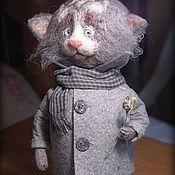 Куклы и игрушки ручной работы. Ярмарка Мастеров - ручная работа Кот Марк. Handmade.