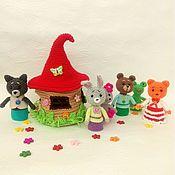Куклы и игрушки handmade. Livemaster - original item Penlight theater tower with a house. Handmade.