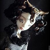Шарнирная кукла ручной работы. Ярмарка Мастеров - ручная работа Дэниела Gothic Steampunk шарнирная кукла. Handmade.