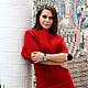 """Платья ручной работы. валяное платье  """" Цвет любви"""". KiEra. Интернет-магазин Ярмарка Мастеров. Однотонный, платье валяное"""