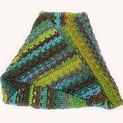 Аксессуары handmade. Livemaster - original item Crochet Snood (scarf-pipe) Moebius from 100% wool. Handmade.